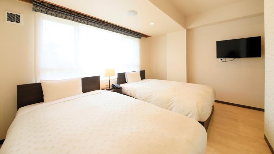 Ddタイプ一例 寝室はシンプルながら落ち着く空間です。