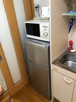 冷蔵庫・電子レンジ・電気ケトル2