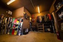 乾燥室/レンタルギアコーナー
