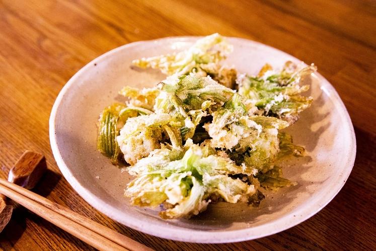 旬菜の天ぷら