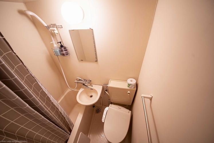 客室ユニットバス・温水便座トイレ