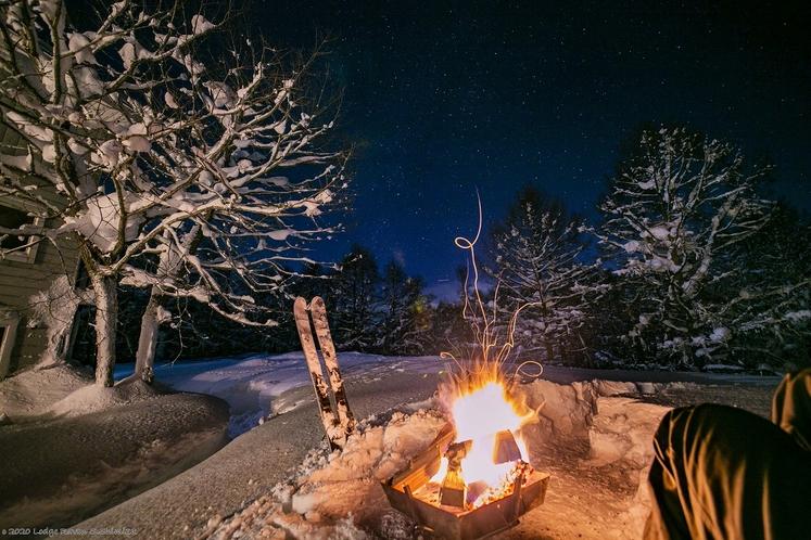 キャンプ(冬季)