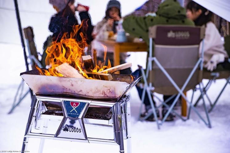 雪上キャンプ&BBQ