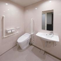 ユニバーサルルームバストイレ