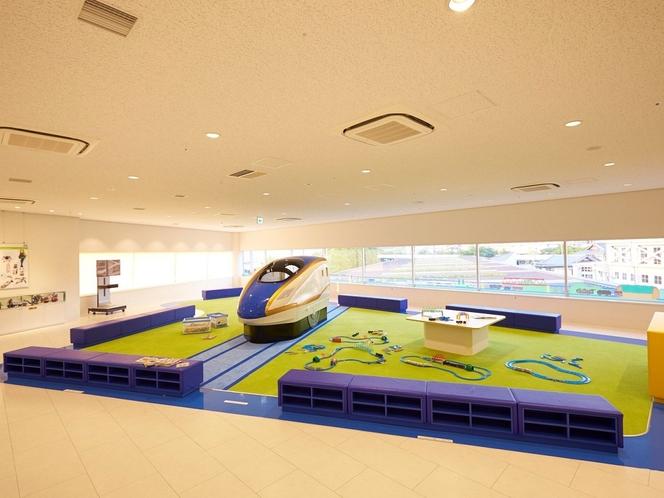 キッズパーク(京都鉄道博物館)