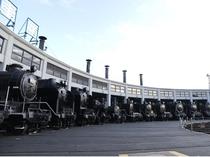 扇形車庫(京都鉄道博物館)