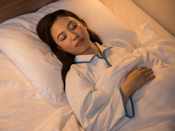 【客室】こだわりの快眠寝具で、しっかりとお休みください