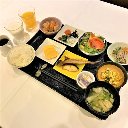 【ご朝食・和食】セットメニューでご案内時の一例です