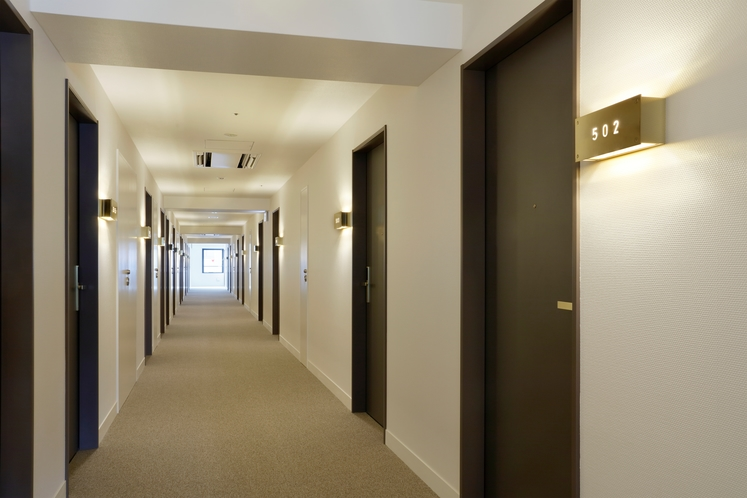 5階客室廊下