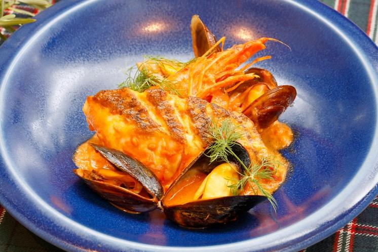 プレミアムコースお魚料理