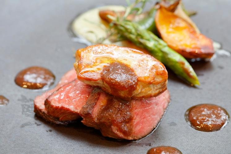 プレミアムコースお肉料理
