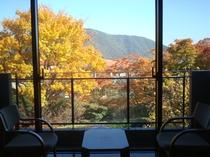 お部屋からの眺望 秋