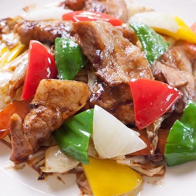 《白金豚とキャベツの甘味噌炒めセット》1泊2食付きプラン
