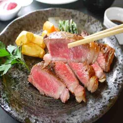 【秋冬旅セール】【岩手県産牛を2種類のソースで味わう】県産牛サーロインステーキセットプラン