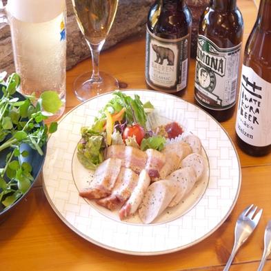 【岩手の酒を楽しむ】 県産クラフトビールと白金豚ソーセージ・ベーコンセット
