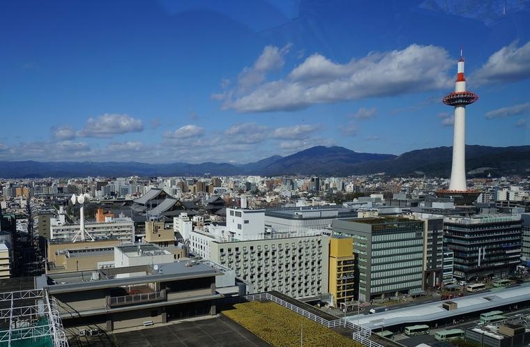京都タワーや京都駅も徒歩圏内!