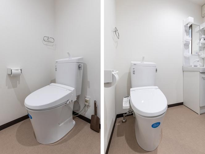 【禁煙】ファミリールーム1~4名様 トイレ