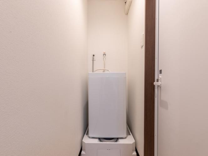 【禁煙】シングルルーム 洗濯機