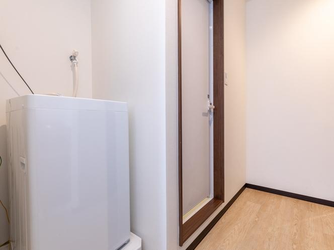 【禁煙】ツインコンパクトルーム 洗濯機