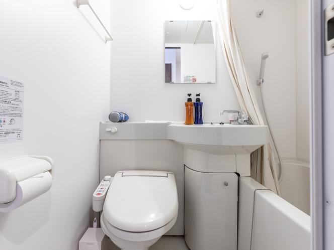 【禁煙】ツインコンパクトルーム バス・トイレ
