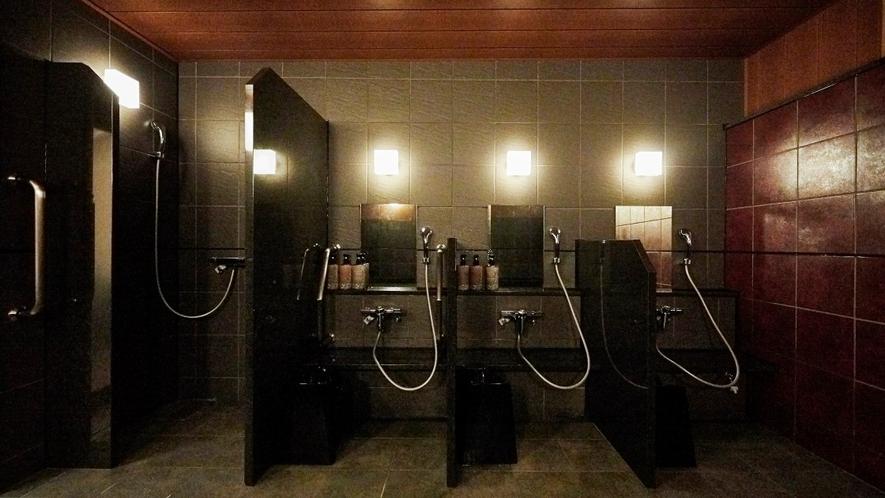 【大浴場】洗い場(女性用)