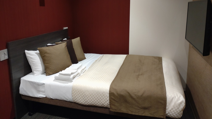【ユニバーサルルーム】ベッド