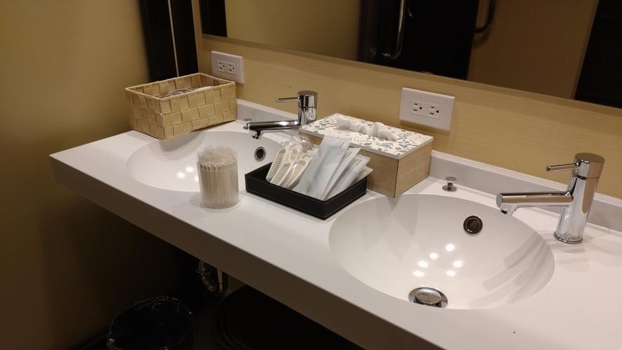 【大浴場】洗面台