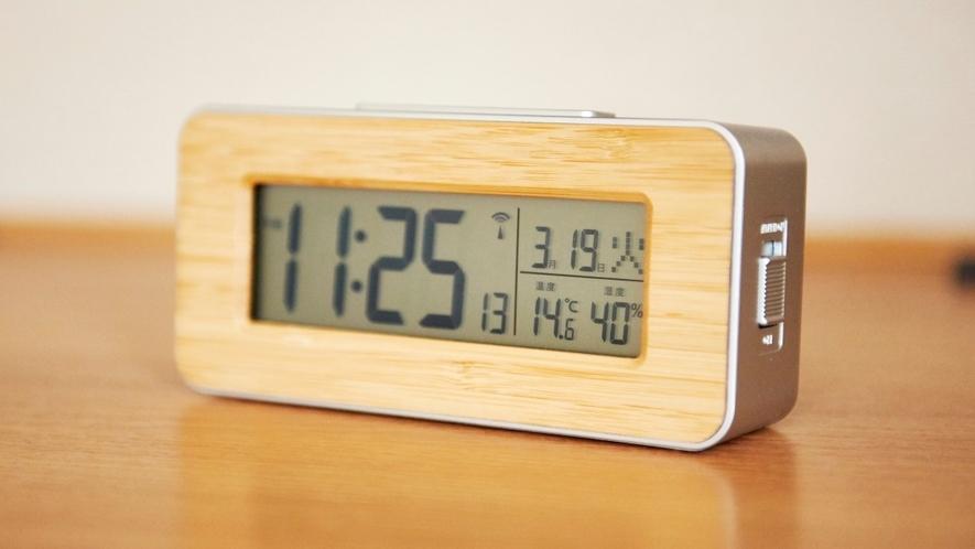 【客室設備】時計