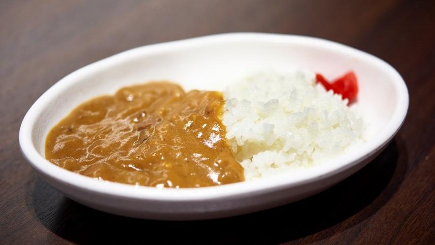 【朝食】カレーライス