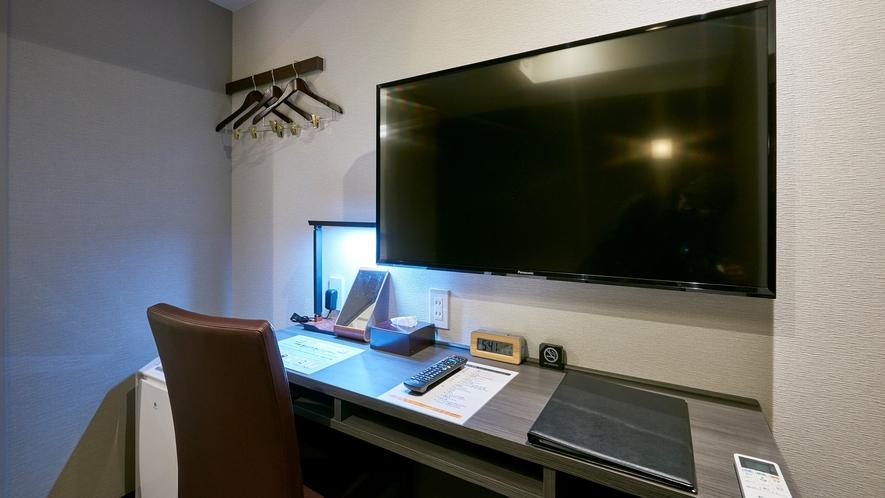 【客室設備】大型液晶テレビ