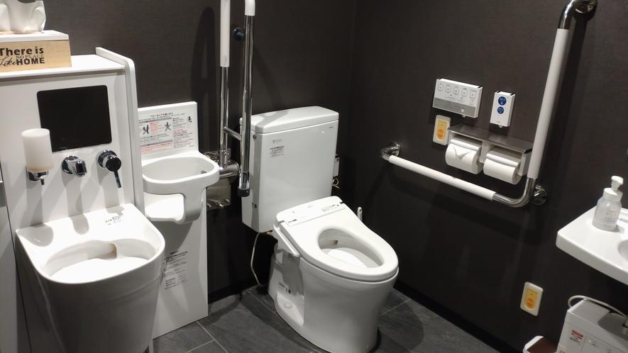 【館内設備】多目的トイレ