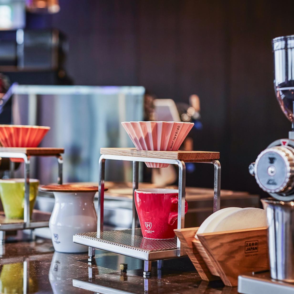 コーヒー・エクスペリエンス:コーヒー通にも人気のORIGAMIドリッパー
