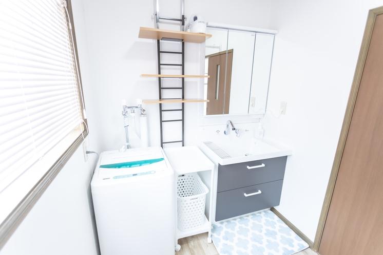 ヴィラ 洗濯機&洗面台
