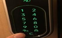 入口電子キー