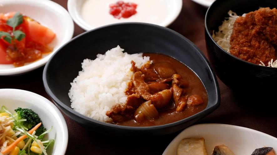 ご当地メニュー 麦豚カレー 【2Fレストラン朝食♦6:30~9:30(LO9:00)】
