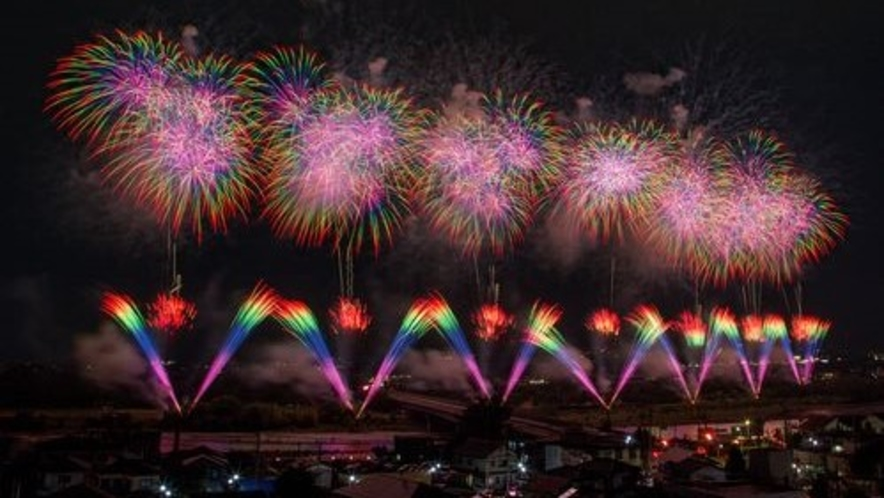 ■前橋花火大会(写真提供:前橋観光協会)