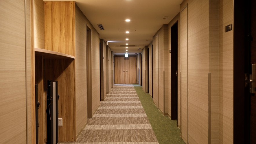 ■客室廊下