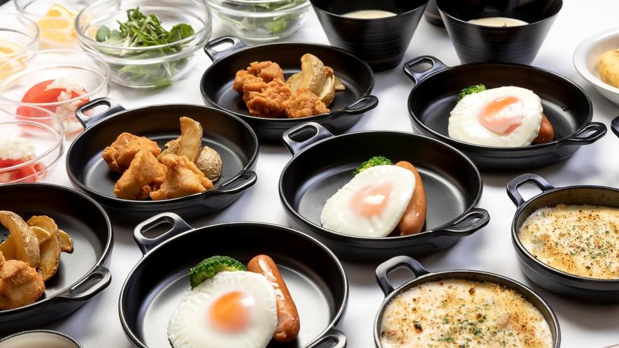 温製小鉢 【2Fレストラン朝食♦6:30~9:30(LO9:00)】