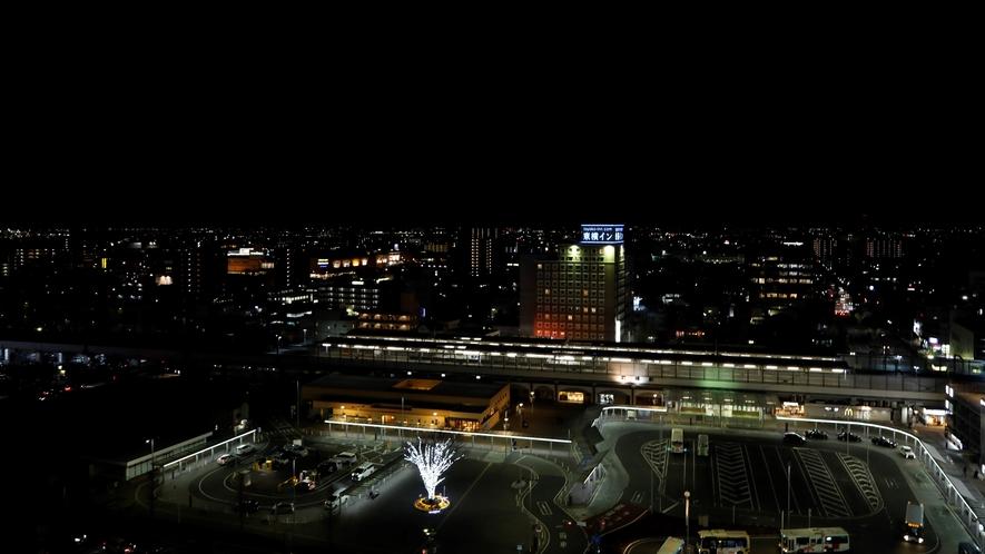 ■ホテルからの夜景