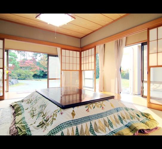 客室◆冬には心も身体もあたたまるこたつをご用意いたします