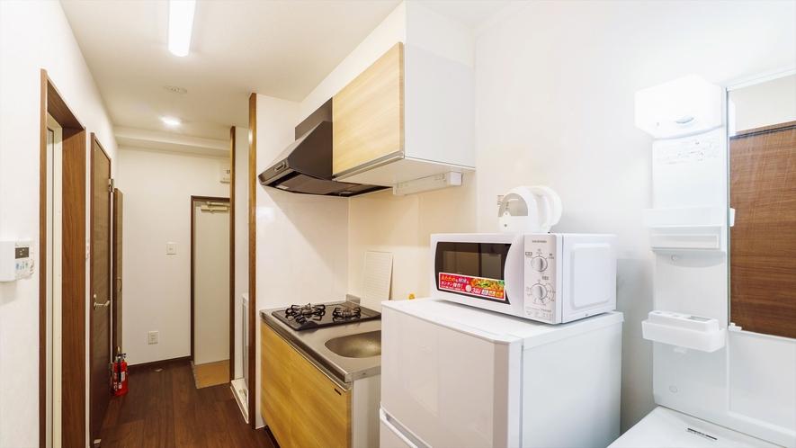 客室キッチン