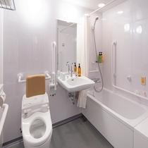 ユニバーサルルーム バス&トイレ