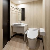 客室トイレ&独立洗面台