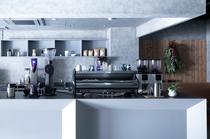1Fカフェ キッチン