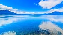 ■日本屈指の水質を誇る支笏湖