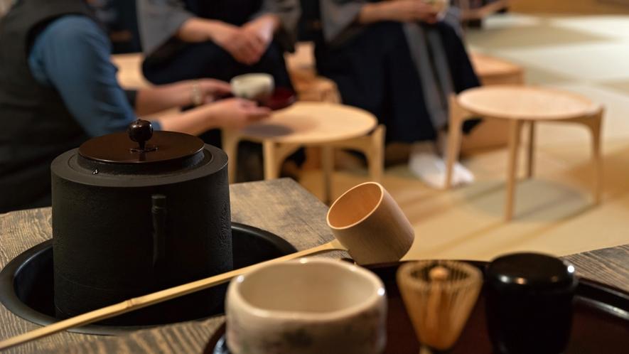 ◇カルチャーラウンジ/日本茶お点前体験 ※イメージ