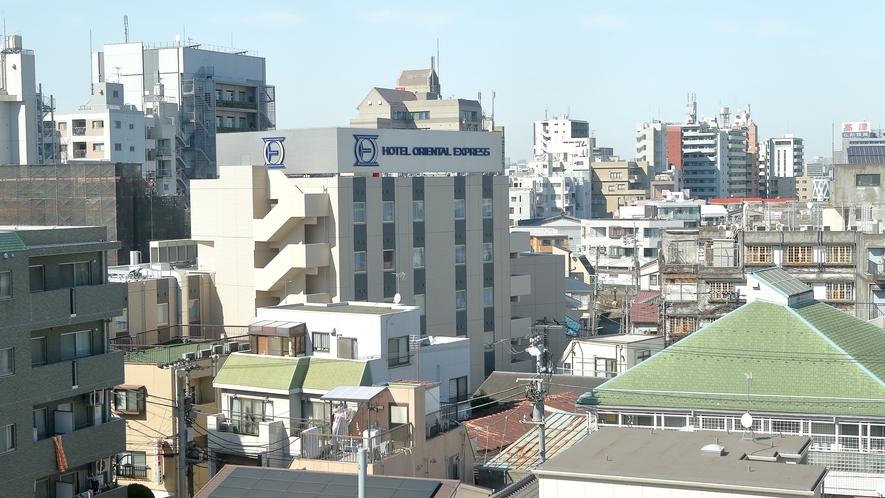 外観(上空)京急空港線より