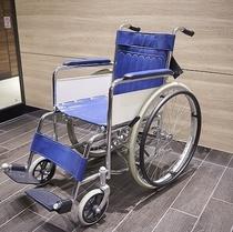 貸出備品:車椅子