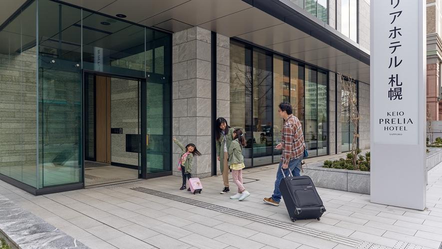 札幌駅北口より徒歩3分の好立地♪