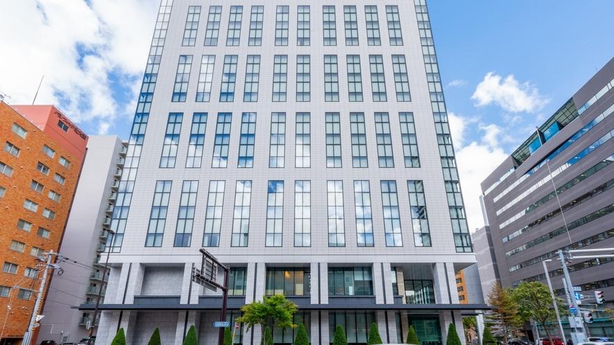 京王プレリアホテル札幌【外観】 札幌駅北口より徒歩3分